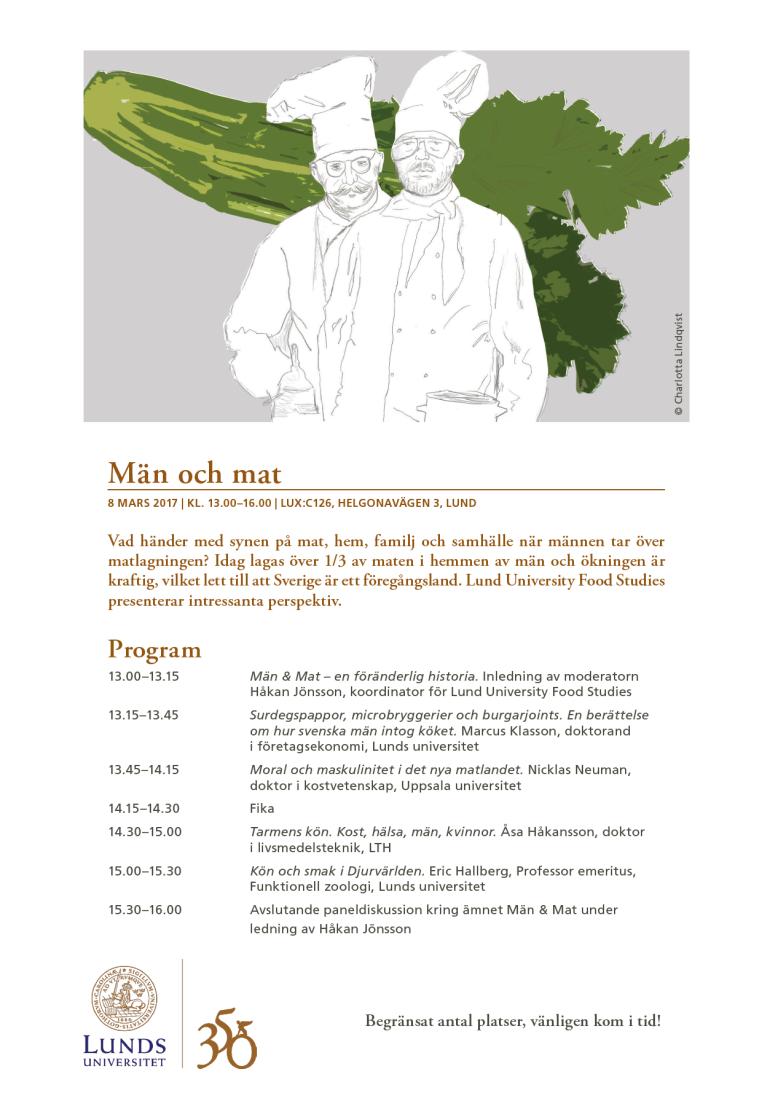 Män och mat i Lund